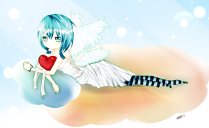 ++Contest Entry : Cupid by delestia