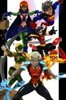 young justice by zhane00