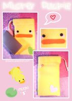 Duck DS Case by KelliBean