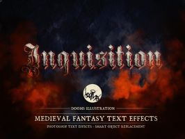 Inquisition - Medieval Fantasy Text Effect by Doomsillustration