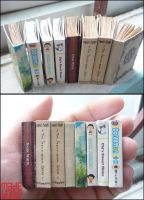 Miniature book commission by sakyachan