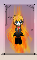 -KH- Heart Aflame by RoxyOblivion