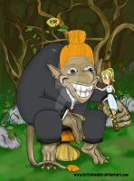 The Troll's Toothpick by krittermaker