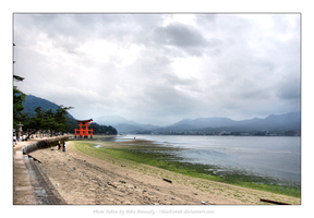 Itsukushima Shinto Shrine lll by rikachu426