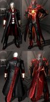 Beta version Blood Dante and Final Blood DT by Creelien