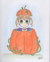 Maka: Inside a Pumpkin by 4eVerANIMEluv
