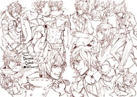 [CM] ClausDeimos Sketchpage [YAOI] by renos13