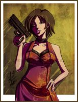 Ada Wong by LemiaCrescent