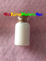 Bottle Charms: Marshmallow by AkaKiiroMidoriAoi