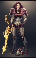 RID Arcee (humanized) by Valong