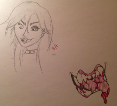 The Kinda Trash I Doodle At Night by skylordamelia