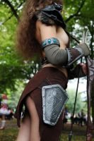 Aela Cosplay: What are you looking at? by MowkyCosplay