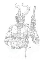 Hellboy by rogermed