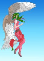 Eagle Girl by Romwba