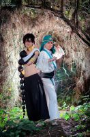 Ja'far and Judal by ShuzaCosplay