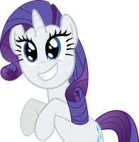 Excited Rarity by destroyer735