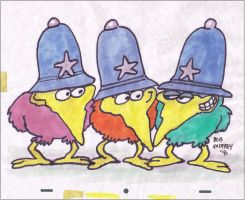 Original Roobarb and Custard Production Drawing by AnimationValley