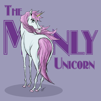 The Manly Unicorn. by issabissabel