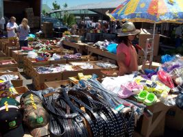flee market, not what it was by duello