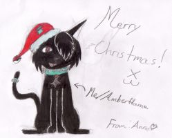 Warrior cat christmas by videogamer500