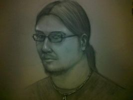 Self portrait by Torvald2000