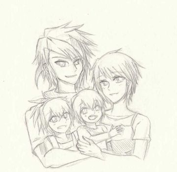 Sketch#15 Family by ReiyuuSama
