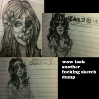 Wow look another fucking sketchdump by sixtiesgrrrl