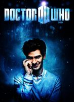 Andrew Garfield as Doctor Who Poster by Super-Fan-Wallpapers
