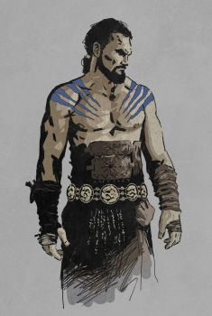 The Great Khal by phillipnormando