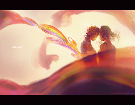 Love Wins by Umika-Sayoji
