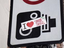 I Love Signs and Stickers by ezy94