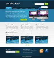 Web Design Layout 14 by hvdesignz