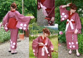Samurai Champloo - Fuu Cosplay by dark-zero-mousy