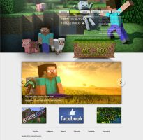 Empire Craft Webdesign By DanooTech by DanooTech