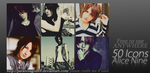 50 Alice Nine Icons by ParanoiaGod69