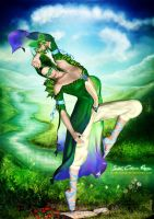 Fantasy Deepest Green by SK-DIGIART