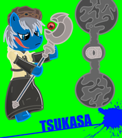Tsukasa Ponified by hells-edge