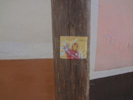 Iron Man Sticker slap in Mexico by omarvel1