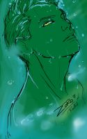 Green Zoro by redKat120