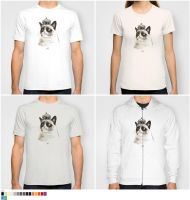 BY ROYAL DECREE! - Another Grumpy Cat T and Hoody by J-MEDBURY
