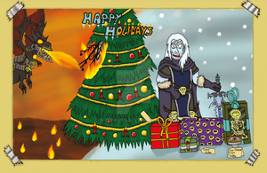 WoW Holiday Card by Shyralon