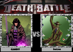 Death Battle - Gambit vs Dandyman by Rassilon001