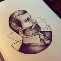 Geometric Beard by Moviemetal3