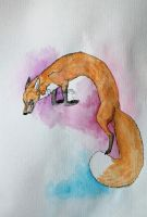 The Red Fox by dahowlers