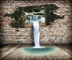 Waterfall by MaGo-Misterioso