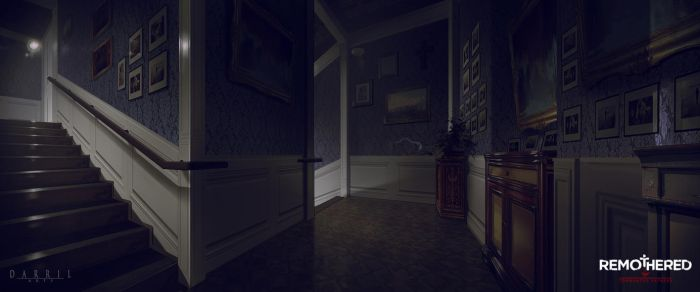 REMOTHERED: Tormented Fathers - Stairs (Concept) by Chris-Darril