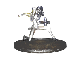 'LOCO' Delphi glass figurine render by lezisell