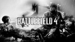 Battlefield 4 v2 B/W by rehsup