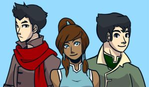 Team Korra by cookiekhaleesi