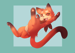 FLYING CAT by phation